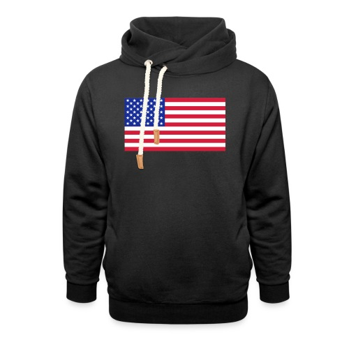 USA / United States - Sjaalkraag hoodie