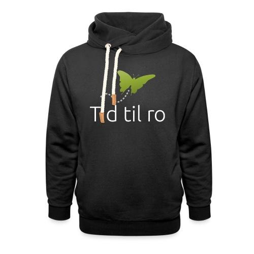 Tid til ro - Unisex hoodie med sjalskrave