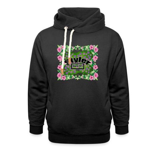 Styler Bloemen Design - Sjaalkraag hoodie