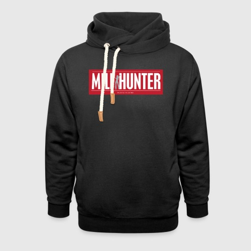 MILFHUNTER1 - Unisex hoodie med sjalskrave