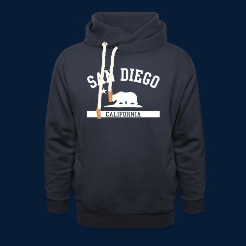 San Diego - Unisex Schalkragen Hoodie