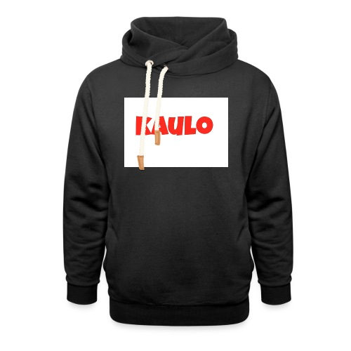 wit2 jpg - Unisex sjaalkraag hoodie