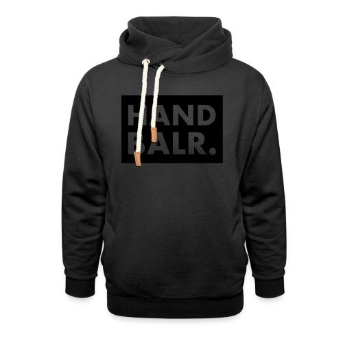 Handbalr Wit - Sjaalkraag hoodie