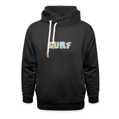 Surf summer beach T-shirt - Unisex Shawl Collar Hoodie