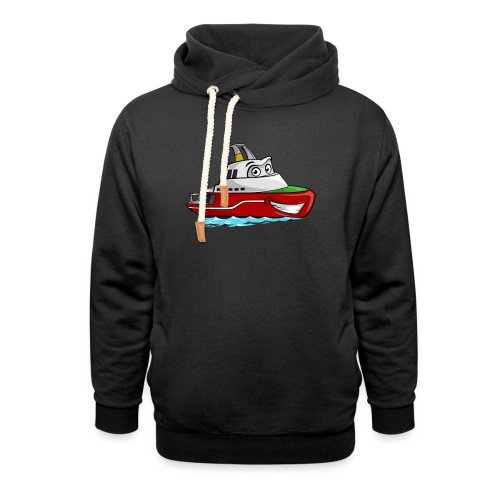 Boaty McBoatface - Shawl Collar Hoodie