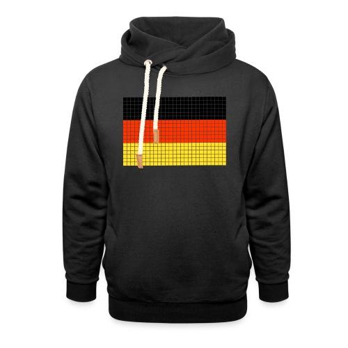 german flag.png - Felpa con colletto alto