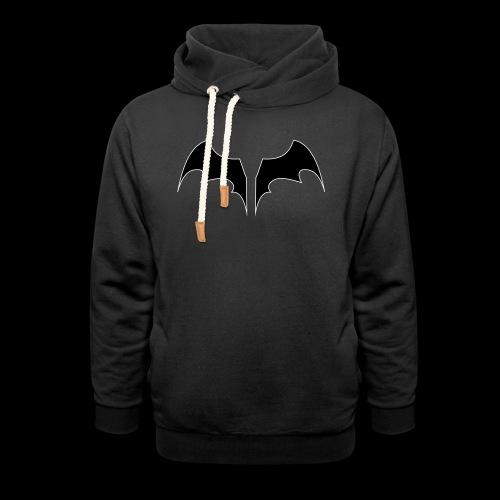 batwings - Felpa con colletto alto