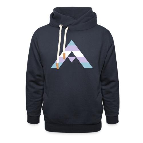 shirt_ally_trans - Luvtröja med sjalkrage unisex