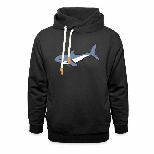 Hai - Schalkragen Hoodie