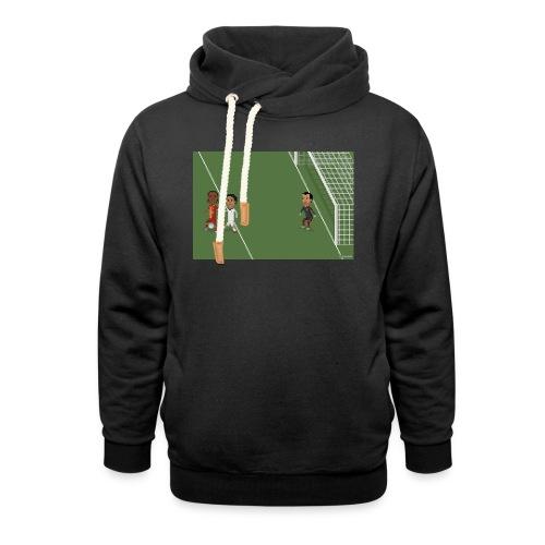 Backheel goal BG - Unisex Shawl Collar Hoodie