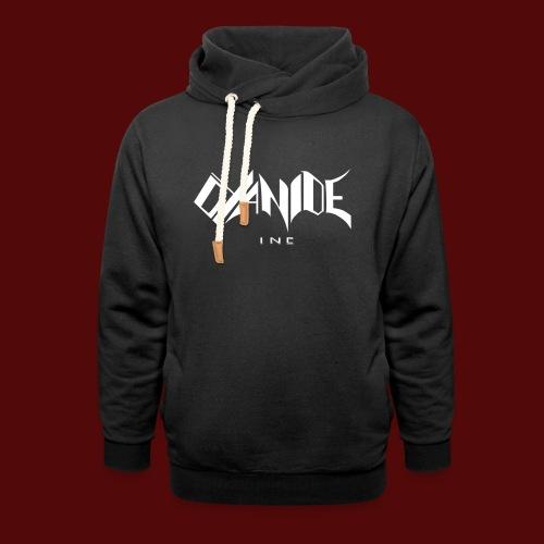 Logo Cyanide Inc - Sweat à capuche cache-cou