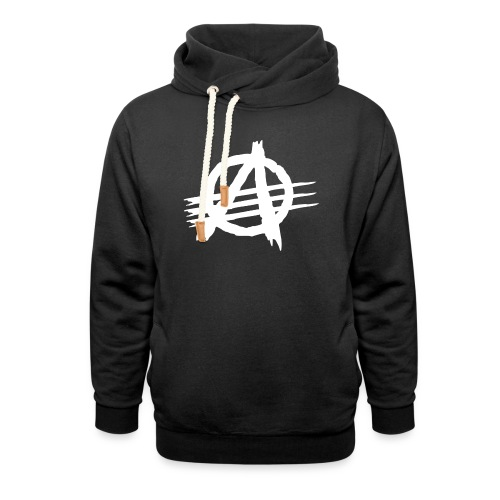 AGaiNST ALL AuTHoRiTieS - Shawl Collar Hoodie