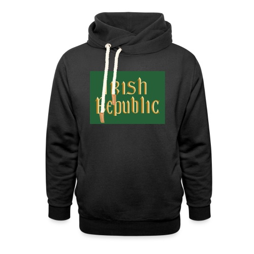 Original Irish Republic Flag - Shawl Collar Hoodie