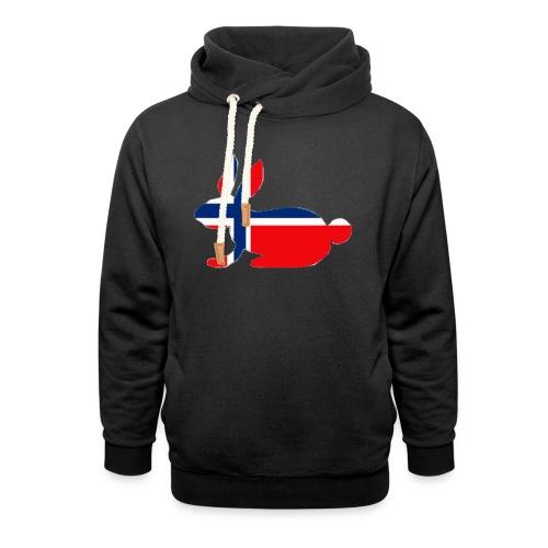 norwegian bunny - Shawl Collar Hoodie
