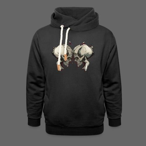 MHF_Logo_Loose-Skulls - Shawl Collar Hoodie