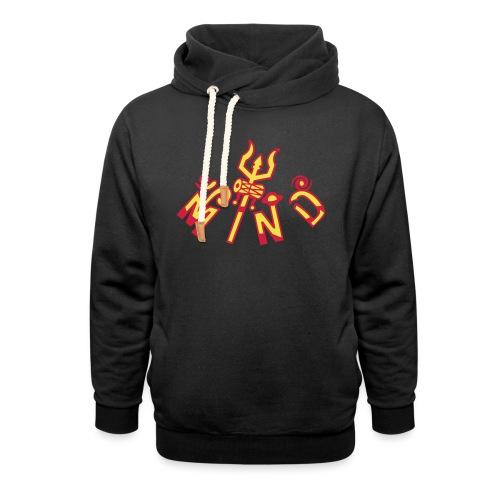 Realiseret Sind - Unisex hoodie med sjalskrave