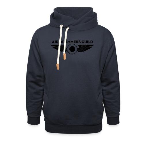 ADG Drum'n'Wings Emblem - Unisex Shawl Collar Hoodie
