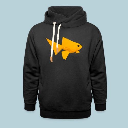 RATWORKS Fish-Smish - Unisex Shawl Collar Hoodie