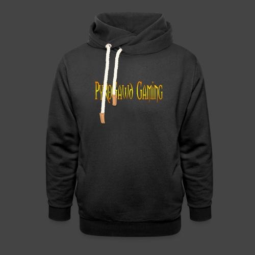 PyroGawd Logo Text - Schalkragen Hoodie