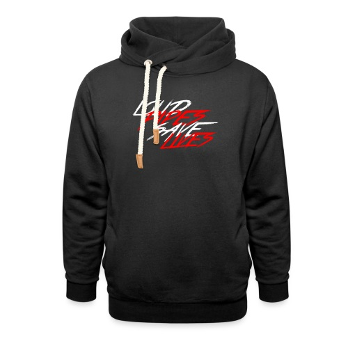 Loud Pipes Save Lives - Schalkragen Hoodie