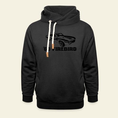 firebird small - Hoodie med sjalskrave