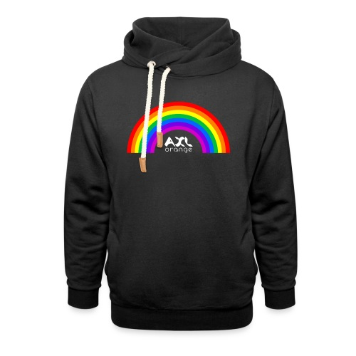 AXL_rainbow_arc - Shawl Collar Hoodie