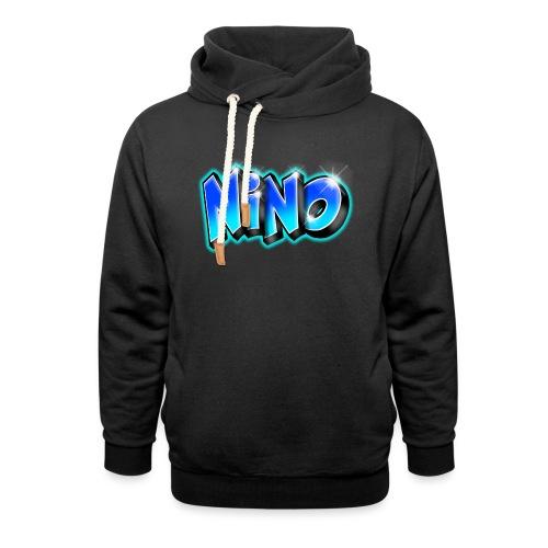 NINO graffiti name printable - Sweat à capuche cache-cou