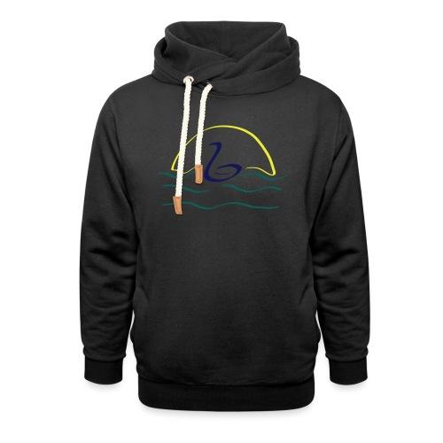 Swan - Unisex sjaalkraag hoodie