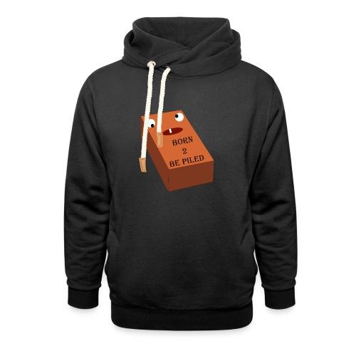 Brick Life - Sjaalkraag hoodie