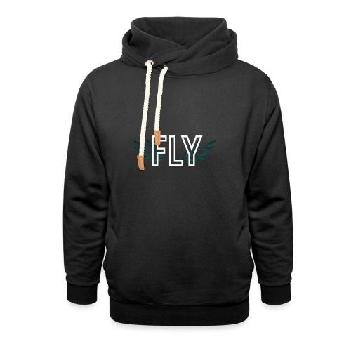 Wings Fly Design - Unisex Shawl Collar Hoodie