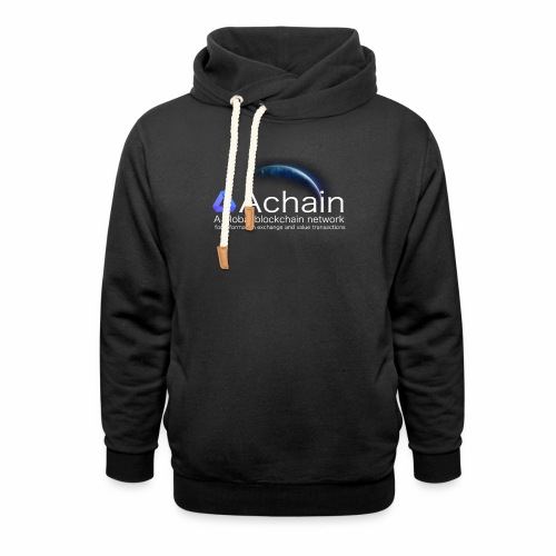 Achain, planet Earth - Felpa con colletto alto unisex