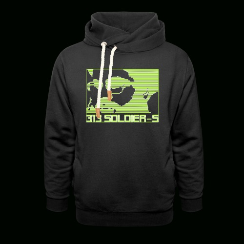 313 SOLDIERS - Schalkragen Hoodie