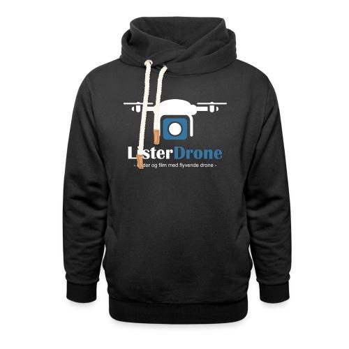 ListerDrone logo - Hettegenser med sjalkrage