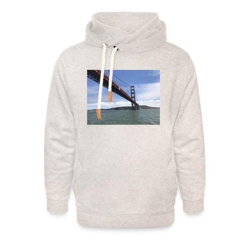Golden Bro - Unisex hoodie med sjalskrave