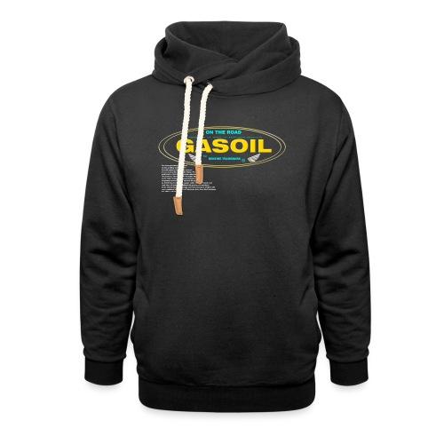 GASOIL - Sweat à capuche cache-cou
