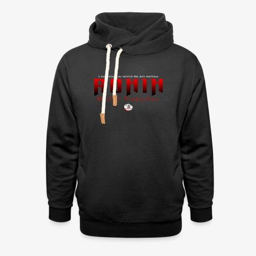 RONIN Production - le tee shirt officiel - Sweat à capuche cache-cou