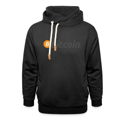 Bitcoin - Unisex Schalkragen Hoodie