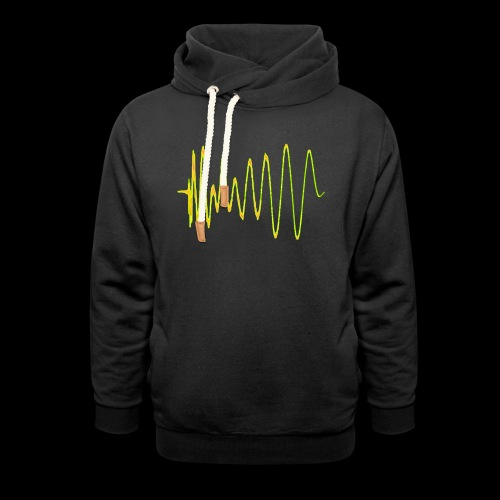 Boom 909 Drum Wave - Shawl Collar Hoodie
