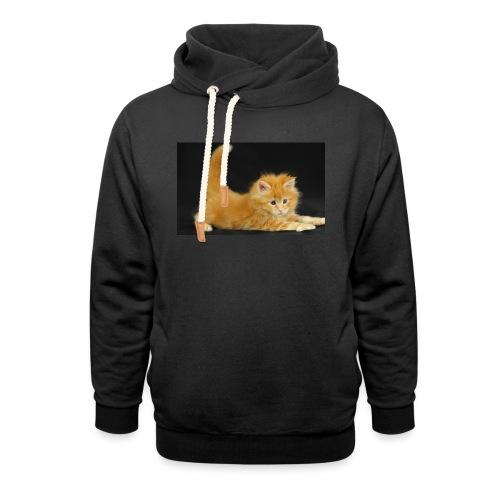 gatto - Felpa con colletto alto