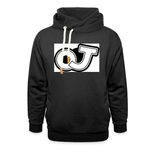 OJ_logo - Sjaalkraag hoodie