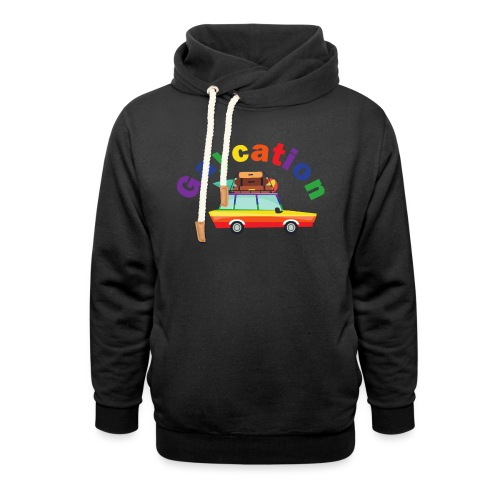 Gaycation | LGBT | Pride - Schalkragen Hoodie