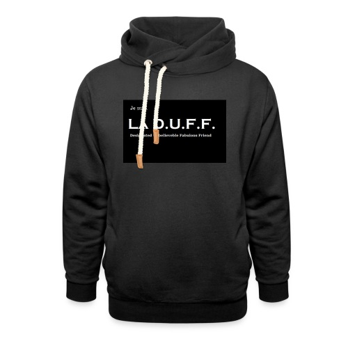 Je Suis La D.U.F.F. Shirt female - Sjaalkraag hoodie