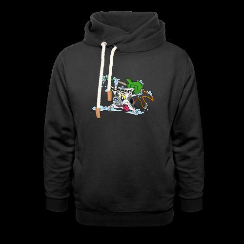 Wicked Washing Machine Wasmachine - Sjaalkraag hoodie