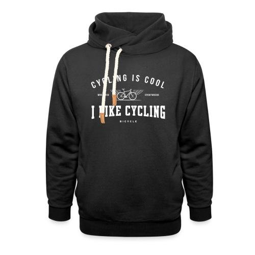 cycling - Bluza z szalowym kołnierzem
