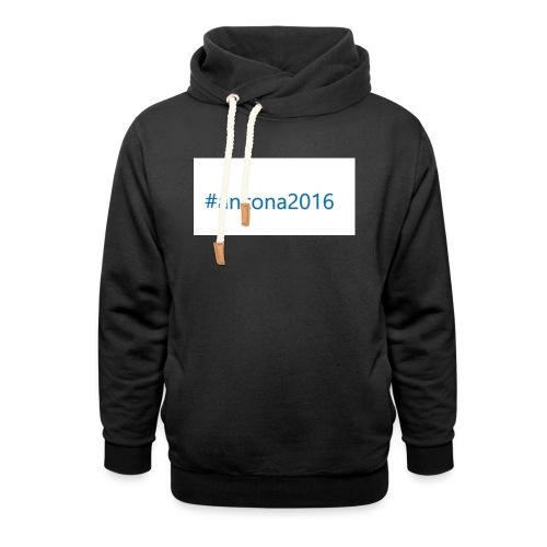 #ancona2016 - Sudadera con capucha y cuello alto unisex