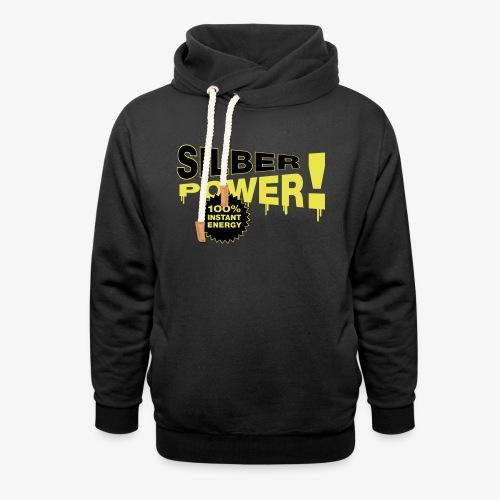 SilberPower! - Unisex hoodie med sjalskrave