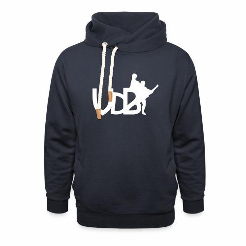 Linea VdB Bianco - Felpa con colletto alto unisex