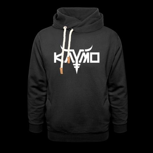 KayMo Logo - Unisex hettegenser med sjalkrage