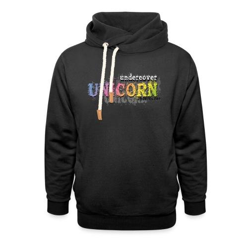 Undercover Unicorn - Sweat à capuche cache-cou