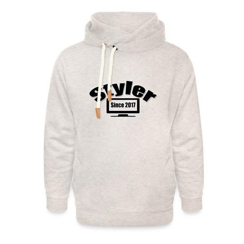 Styler Designer Kleding - Unisex sjaalkraag hoodie